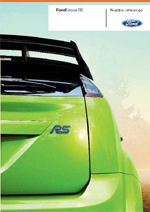 Ford Focus RS Editionsmodell