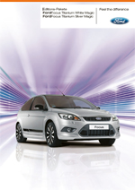 Ford Focus White / Silver Magic Editions Pakete