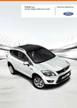 Ford Kuga White Magic Editionsmodell