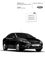 Ford Mondeo Black Magic Editionsmodell